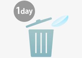 1日使い捨て