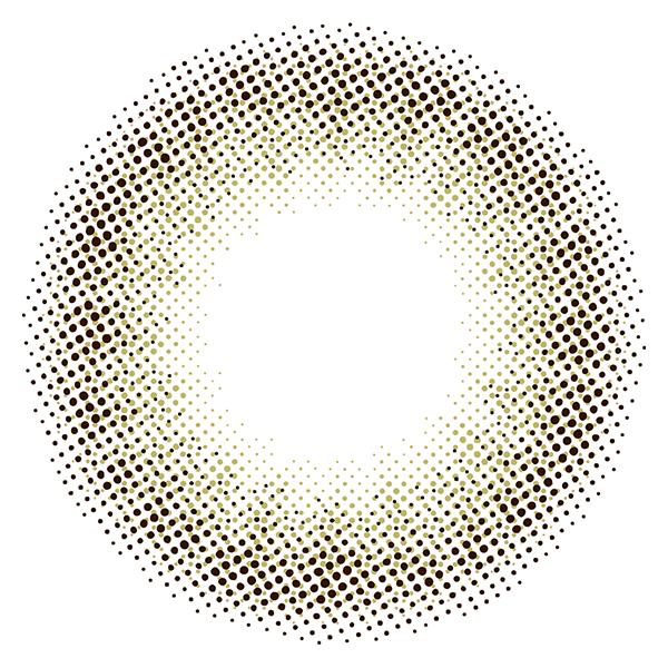 コイアオ(koiao)キスミーブラウンレンズ画像