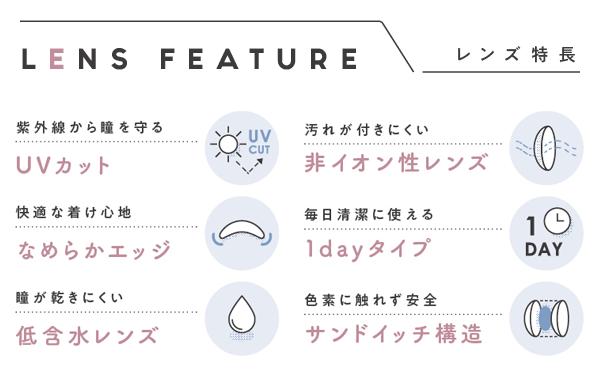 ミムコ(mimuco)はUVカット、低含水レンズ